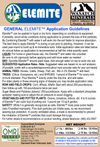Elemite front label 3.25x4.75