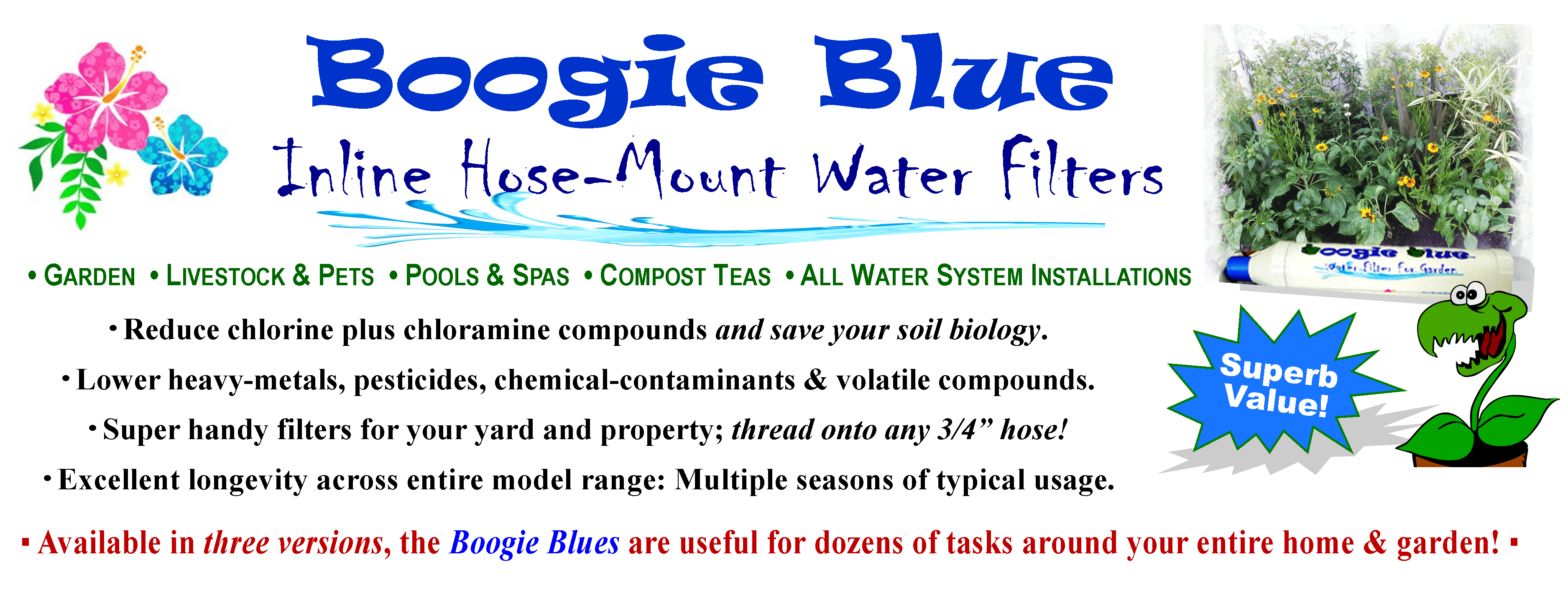 Boogie Blue Filter Banner Sign 12 5x4 75 White Extended Vbackground